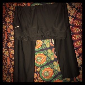 Nike Capri straight fit leggings black